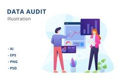 Data Audit Illustration Product Image 1