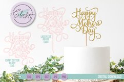 Mother's Day & Father's Day Cake Topper Product Image 3