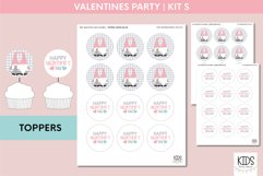 Valentine's Day party decorations. | Gnomes printable party Product Image 5