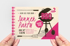 Retro BBQ Flyer Template Product Image 3