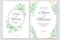 Wedding invitations vector set #2 Product Image 4