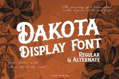 Dakota Font Product Image 1