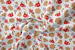 Christmas digital paper | Christmas sweets seamless pattern Product Image 2