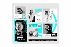 set of media social template Product Image 1