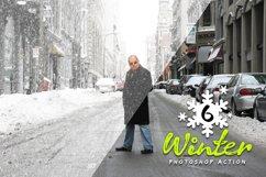 6 Winter Photoshop Action Product Image 5
