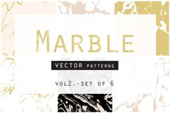 Marble Seamless Vector Patterns Product Image 1