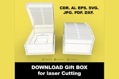Gift Box - Laser cutting File Product Image 5