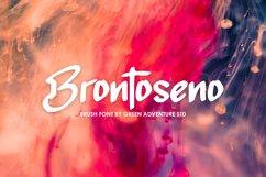 Brontoseno - A Brush Font Product Image 1