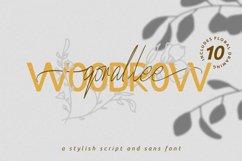 Qorallee Woodrow Font Duo Bonus Product Image 1