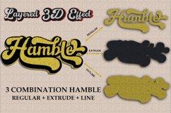 Hamble font Product Image 4