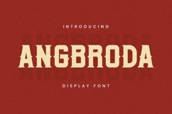 Angrboda Font Product Image 1