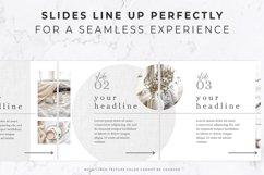 Instagram Post Carousel for Canva   Slideshow   White Linen Product Image 5