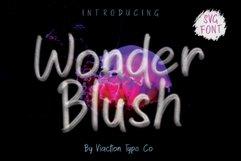 Wonder Blush SVG Font Product Image 1