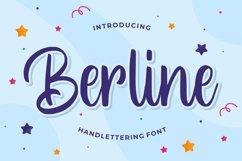 Berline - Handlettering Font Product Image 1