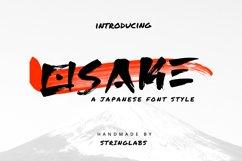 Osake - Japanese Font Product Image 1