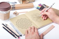 Mandala collection for coloring book Product Image 2