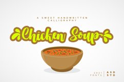 Chicken Soup - A Beauty Calligraphy Product Image 1