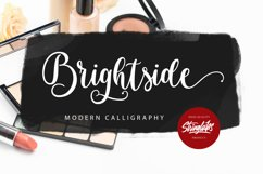 Brightside - Modern Calligraphy Font Product Image 1