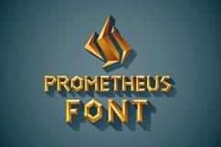 3D Font Set. Gold, wood, silver Product Image 1