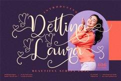 Dettina Laura - Beautiful Script Font Product Image 1