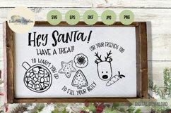 Christmas Hey Santa Cookies for Santa Tray SVG Product Image 4