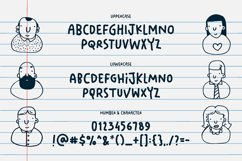 Your Doodle Font - Cute Kids Handwriting Font Product Image 3