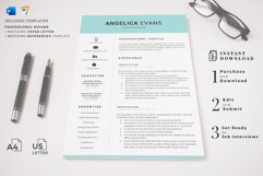 Modern Resume Template and Cover Letter. Fully editable CV Product Image 16