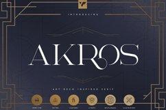 Akros - Art Deco Serif Extras Product Image 1