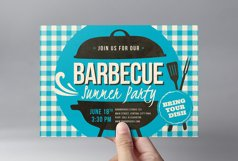 Retro BBQ Flyer Template Product Image 2