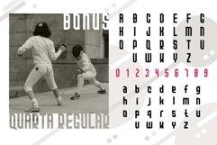 Quarta font family Product Image 6