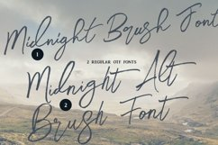 Midnight Brush & SVG Font Product Image 3