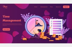 Time management. Landing page headers Product Image 3