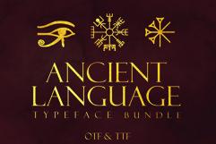Ancient Languages Typeface Bundle Product Image 1