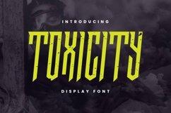Web Font TOXICITY Font Product Image 1