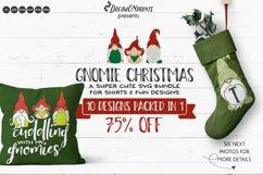 Christmas Gnomes SVG Bundle   Funny Christmas SVG Bundle Product Image 1