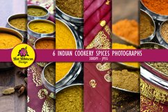 Indian Restaurant Cooking Spices Food Photography Product Image 1