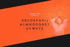 Georgina - A Stencil Hybrid font Product Image 3