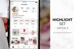 Instagram Template Bundle for Canva | Pink Watercolor Product Image 3