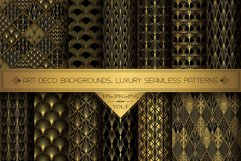 Art Deco Wallpapers Pack   PNG EPS JPG   Vol.4 Product Image 1