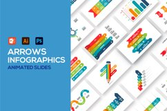 Arrows animated infographics Product Image 1