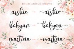 Modern Script - Breyhana Font Product Image 4
