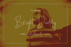 Bright Daddy typeface Product Image 1