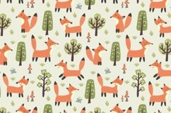 Fox Tales: patterns & clipart Product Image 2
