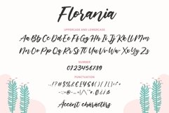 Florania Modern Calligraphy Font Product Image 6
