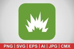 Vector Blast Icon Product Image 1