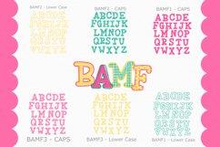 BAMF - A Crazy Font! Product Image 5