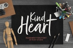 Kind Heart Font Duo Product Image 1