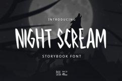 Night Scream Font Product Image 1