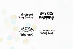 Funny Sleepy Quote SVG Bundle Volume 1 | Nap Quotes Product Image 4