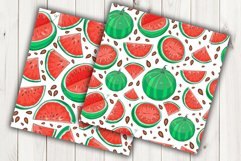 Watermelon Vector Clipart Product Image 2